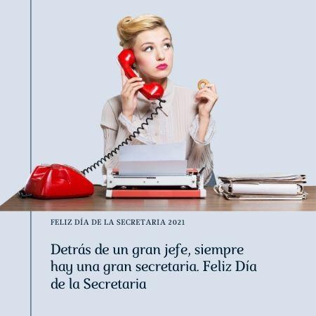 feliz dia de la secretaria