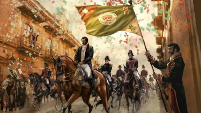 Independencia de México ejército trigarante