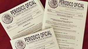 Periódico oficial del estado de Guanajuato: Entérate Foto: Especial