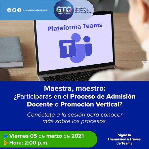 Proceso de admisión docente Guanajuato