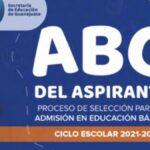 Manual ABC del aspirante para la admisión Educación Básica 2021 Foto: Especial
