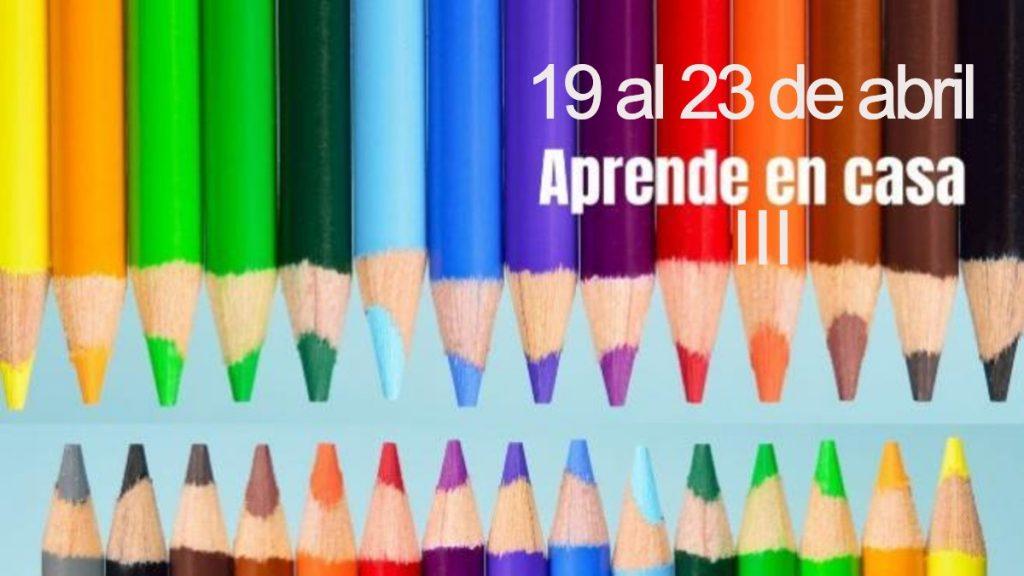 Aprende en Casa Guanajuato III: Temas del 19 al 23 de abril Foto: Especial