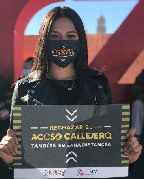 ANDREA MEZA CONTRA EL ACOSO CALLEJERO