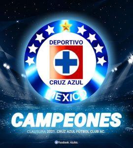 Cruz Azul campeón 9 estrellas