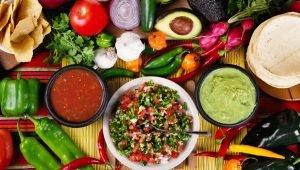Alimentos de origen mexicano
