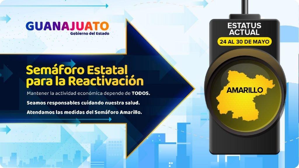 ¿En qué semáforo está Guanajuato del 24 al 30 de mayo? Foto: Especial