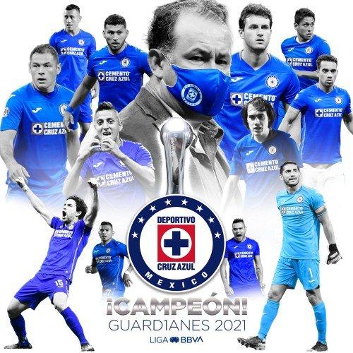 felicidades cruz azul campeon 2021