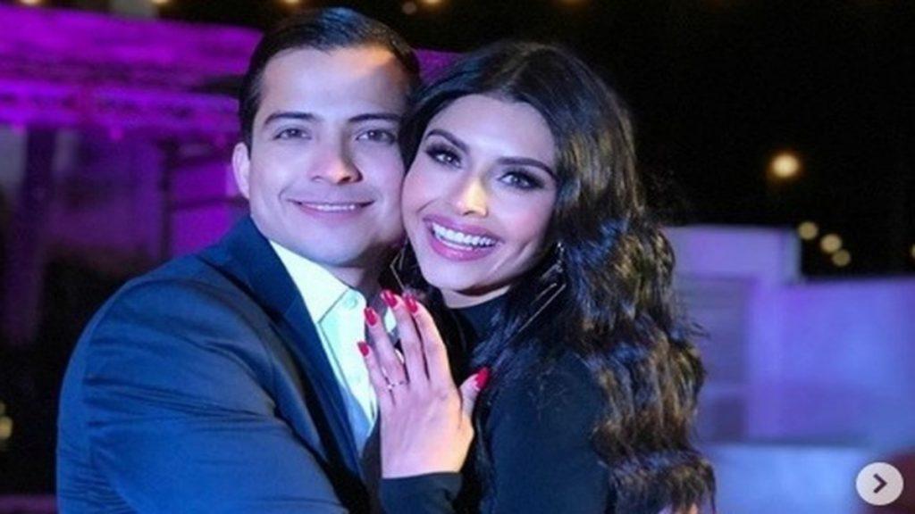 Kristal Silva y Luis Ángel Garza