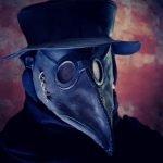 Peste negra. Máscara medieval