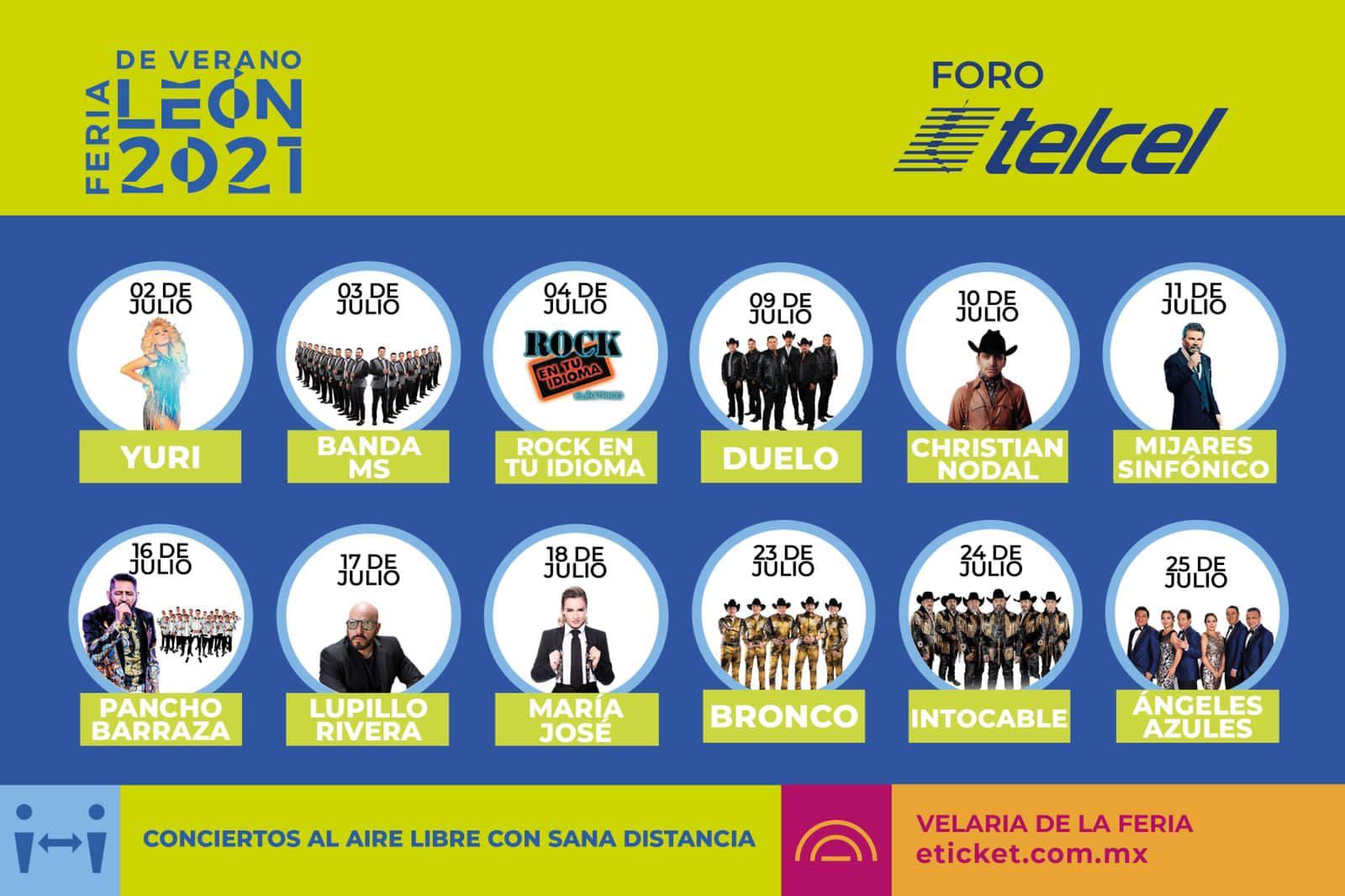 Cartel Feria de Verano León 2021