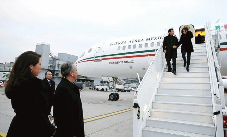 avión presidencial Benito Juárez