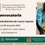 Convocatoria Universidad para el Bienestar Benito Juárez 2021-2022 en PDF Foto: Especial