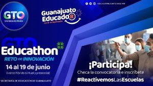 Educathon Guanajuato 2021: Checa la convocatoria Foto: Especial