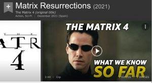 MATRIX 4 IMDB