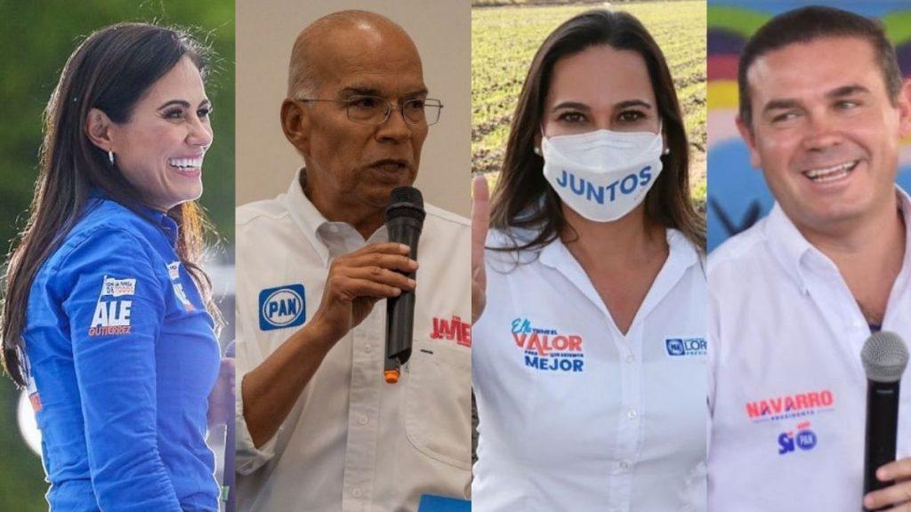 COMO QUEDARON LAS VOTACIONES EN GUANAJUATO 2021 PREP