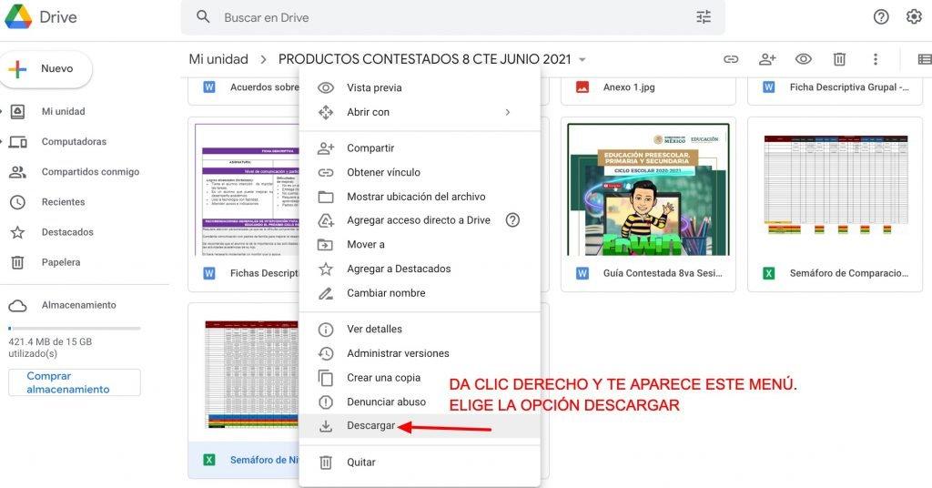 PRODUCTOS CONTESTADOS 8 CTE