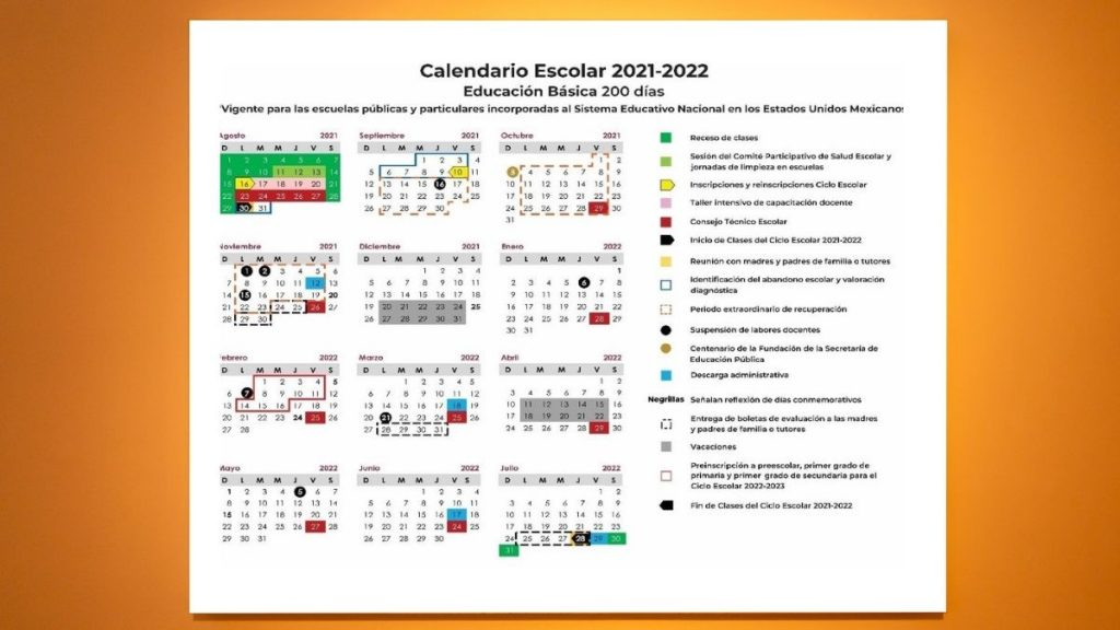 calendario 2021 a 2022 sep