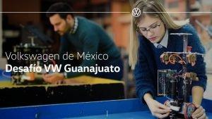 Convocatoria Desafio Volkswagen Guanajuato 2021 en PDF Foto: Especial