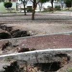 Grieta en Celaya: Checa la ubicación y los pormenores Foto: Periódico Correo