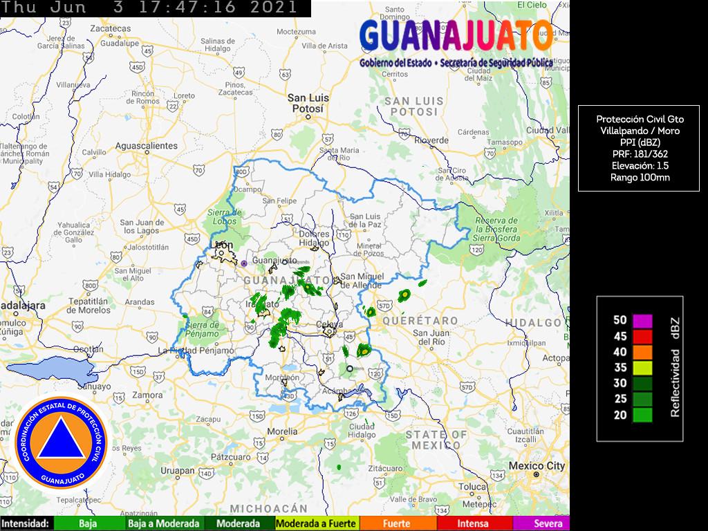 Imagen de Radar Guanajuato 2021