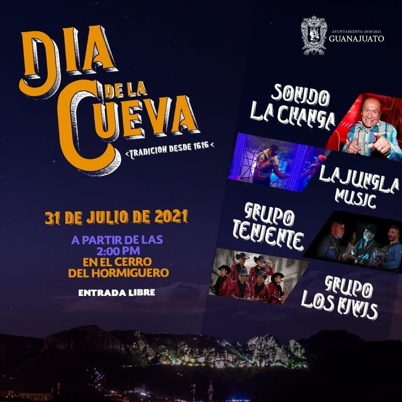 Día de la Cueva Guanajuato 2021 Foto: Gobierno municipal de Guanajuato