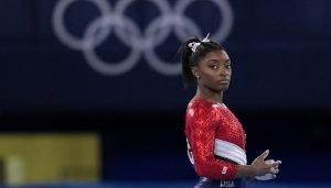 Atletas con problemas mentales. Simone Biles