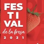 Cartel Festival de la Fresa Irapuato 2021 Foto: Especial