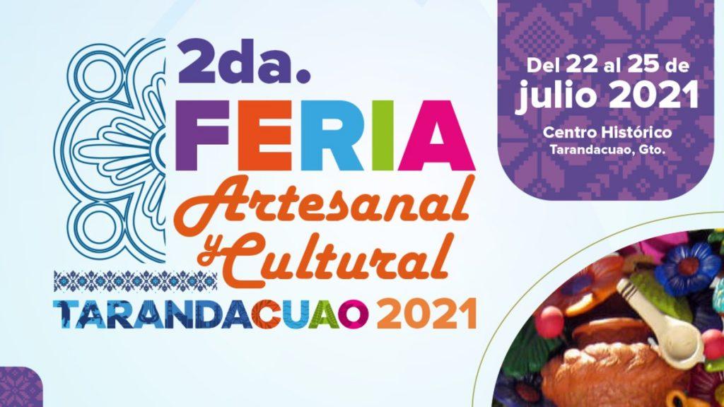 Feria Artesanal y Cultural Tarandacuao 2021: Fecha y actividades Foto: Especial