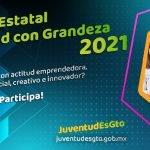 Convocatoria Premio Estatal Juventud con Grandeza Guanajuato 2021 Foto: Especial