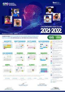 CALENDARIO ESCOLAR 2021 2022 GUANAJUATO