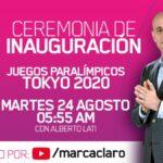 CEREMONIA INAUGURACION JUEGOS PARALIMPICOS TOKYO 2020 1
