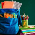 Lista de útiles para el ciclo escolar 2021-2022