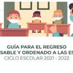 guia regreso a clases presenciales sep 2021 cubrebocas