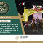 ANIVERSARIO CONSUMACION INDEPENDENCIA MEXICO 2021
