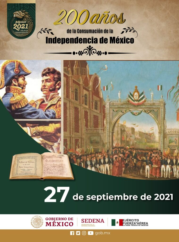 200 ANIVERSARIO INDEPENDENCIA MEXICO 2021