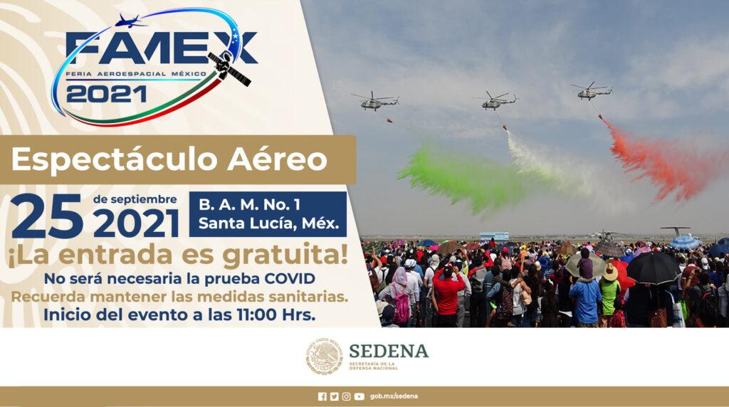 ESPECTÁCULO AÉREO SEDENA 2021 FUERZA AEREA MEXICANA FAM