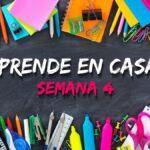 PROGRAMACION APRENDE EN CASA SEP SEMANA 4 2021