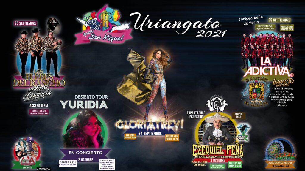 Feria San Miguel Uriangato 2021: Checa el programación completo   FOTO