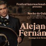 Alejandro Fernández en el Festival del Globo Guanajuato 2021. Costo del boleto Foto: Especial
