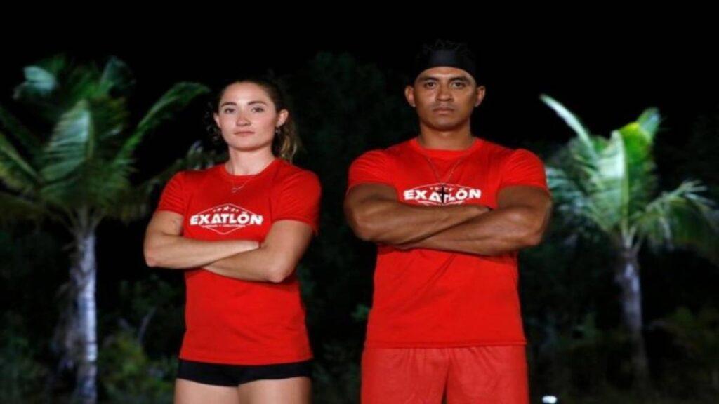 Mati y Heliud suben rating de Exatlón México 2021