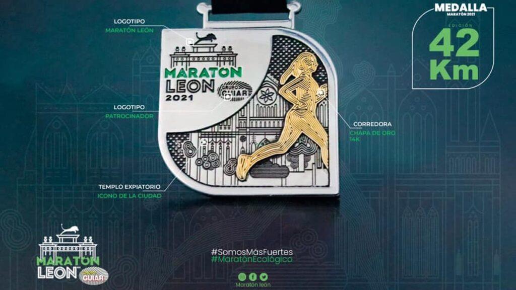 ruta maraton leon guanajuato 2021