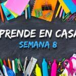 APRENDE EN CASA SEMANA 8