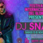 DJ Snake presente en el Festival del Globo Guanajuato 2021 Foto: Especial